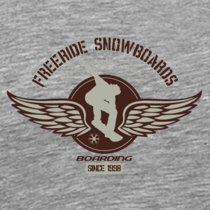 Freeride snowboard - Men's Premium T-Shirt