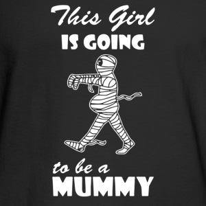 This Girl Is Going To Be A Mummy - Men's Long Sleeve T-Shirt