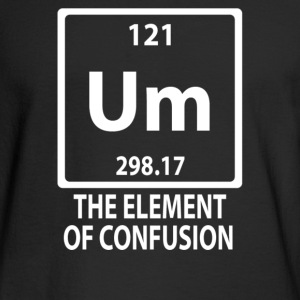 The Element Of Confusion - Men's Long Sleeve T-Shirt