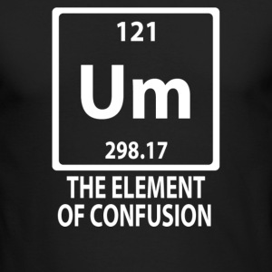 The Element Of Confusion - Men's Long Sleeve T-Shirt by Next Level