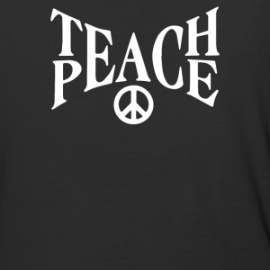 teach peace - Baseball T-Shirt