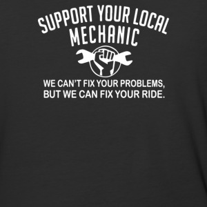 Support Your Local Mechanic - Baseball T-Shirt