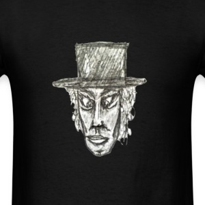 Man with Hat Drawing - Men's T-Shirt