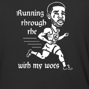 Running through the with my woes - Baseball T-Shirt