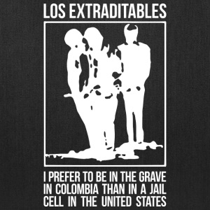Los Extraditables (eng dark) Bags & backpacks - Tote Bag