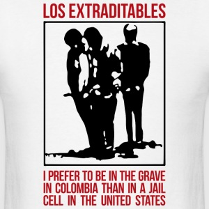 Los Extraditables (eng) T-shirts - T-shirt pour hommes