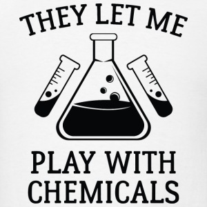 Play With Chemicals - Men's T-Shirt