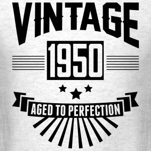 VINTAGE 1950 - Aged To Perfection T-Shirts - Men's T-Shirt
