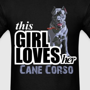 This Girl Loves Her Cane Corso T-Shirts - Men's T-Shirt