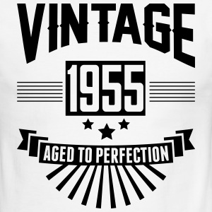 VINTAGE 1955 - Aged To Perfection T-Shirts - Men's Ringer T-Shirt