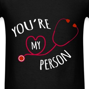 St. Valentine - You're my person - Men's T-Shirt