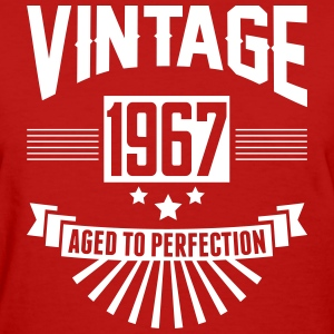 VINTAGE 1967 - Aged To Perfection T-Shirts - Women's T-Shirt