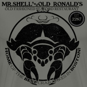 Mr. Shell and Old Ronald's Old Fashioned Seafood R - Men's Premium T-Shirt