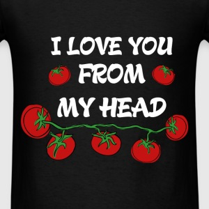 St. Valentine - I love you from my head - Men's T-Shirt