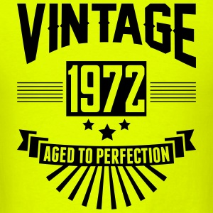 VINTAGE 1972 - Aged To Perfection T-Shirts - Men's T-Shirt