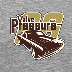 Valve presure - Vintage car - Men's Premium T-Shirt