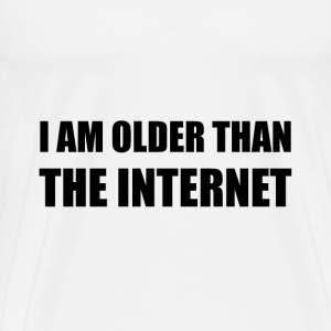 Older Than Internet T-Shirts - Men's Premium T-Shirt