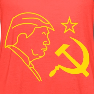 Trump Hammer and Sickle Tanks - Women's Flowy Tank Top by Bella
