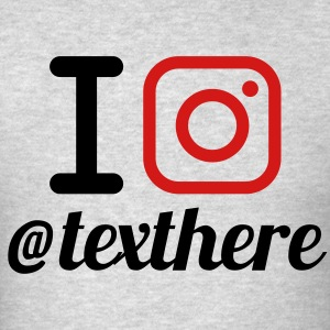 I INSTAGRAM + Yours (I Heart NewYork Style) V2 - Men's T-Shirt