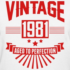 VINTAGE 1980 - Aged To Perfection T-Shirts - Women's T-Shirt
