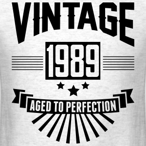 VINTAGE 1989 - Birthday - Aged To Perfection T-Shirts - Men's T-Shirt