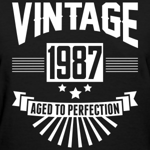 VINTAGE 1987 - Aged To Perfection T-Shirts - Women's T-Shirt