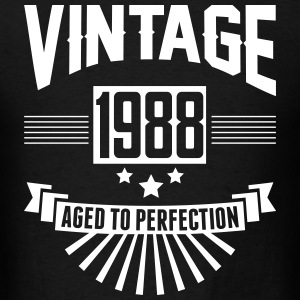 VINTAGE 1988 - Aged To Perfection T-Shirts - Men's T-Shirt