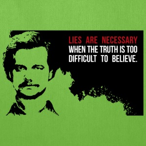 Lies are necessary Bags & backpacks - Tote Bag