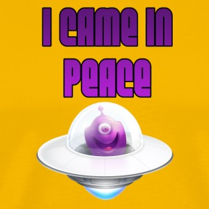 I CAME IN PEACE - Cute Alien - Men's Premium T-Shirt
