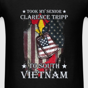 Vietnam Custom - Took my senior clarence tripp to - Men's T-Shirt