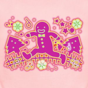 The_Gingerbread_Man - Short Sleeve Baby Bodysuit