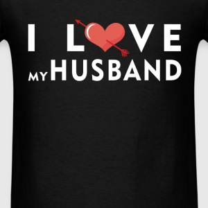 Husband - I love my husband - Men's T-Shirt