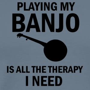 banjo design - Men's Premium T-Shirt