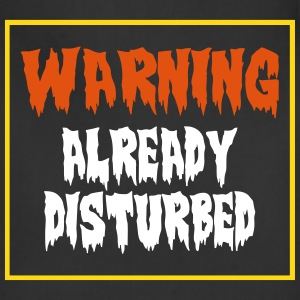 Vector Design-Warning Aprons - Adjustable Apron