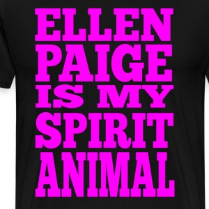Ellen Paige Is My Spirit Animal T-Shirts - Men's Premium T-Shirt