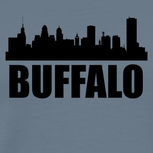 Buffalo NY Skyline - Men's Premium T-Shirt