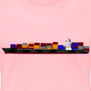 Container ship - Women's Premium T-Shirt