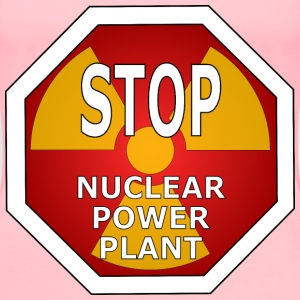 Stop nuclear power plant - Women's Premium T-Shirt