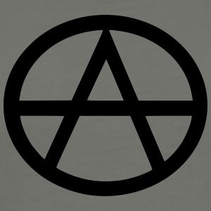 Anarchist Gray T-Shirt - Men's Premium T-Shirt