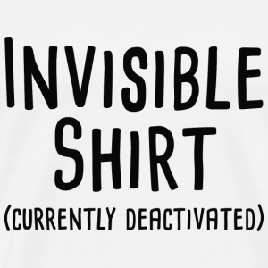 Invisible Shirt - Men's Premium T-Shirt