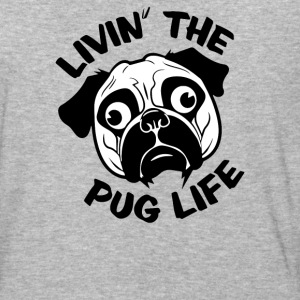 Livin The Pug Life - Baseball T-Shirt