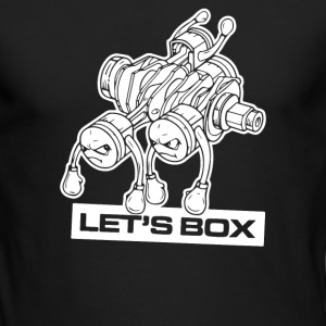 lets box - Men's Long Sleeve T-Shirt by Next Level