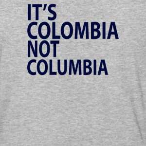 It's Colombia not Columbia - Baseball T-Shirt