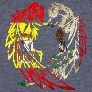 SPAIN MEXICO WOLF LOVE T-Shirts - Men's 50/50 T-Shirt