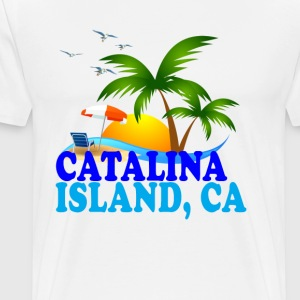catalina_island_ - Men's Premium T-Shirt