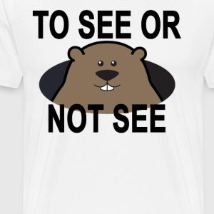 cute_groundhog_day_tshirt_ - Men's Premium T-Shirt