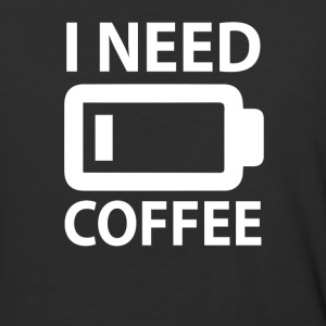 I Need Coffee - Baseball T-Shirt