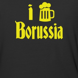 I Love Borussia - Baseball T-Shirt