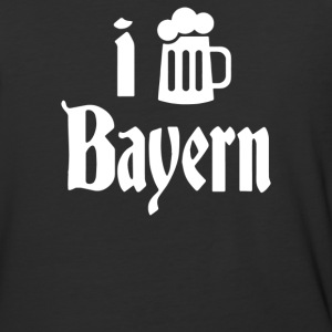 I Love Bayern - Baseball T-Shirt