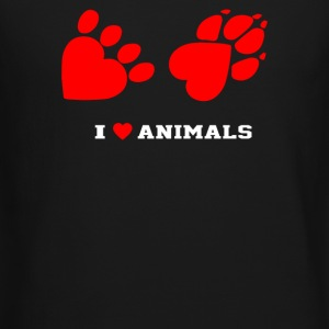 I Love Animals - Crewneck Sweatshirt